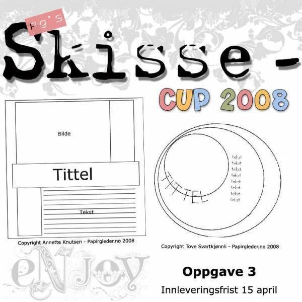 Runde 3 - skisser til Papirgleder's SkisseCup 2008