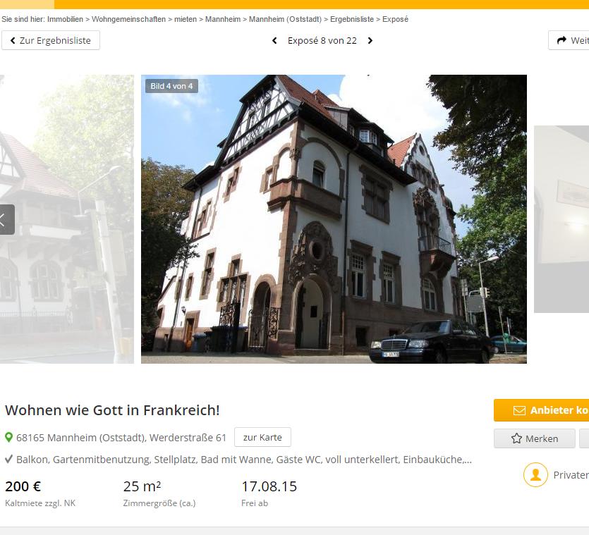 Wg Zimmer In Mannheim: Wohnungsbetrug.blogspot.com: Michaellass@outlook.de Wohnen