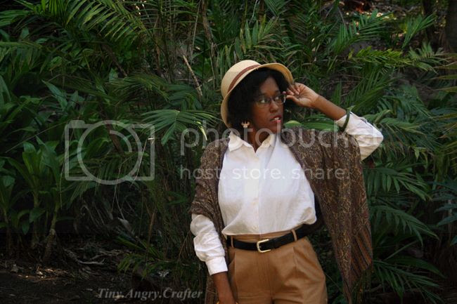 TinyAngryCrafter-1940's lady adventurer style