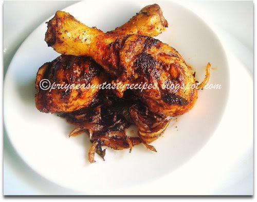 Chicken Fry (Kerala Style)