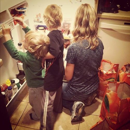 My helpers...