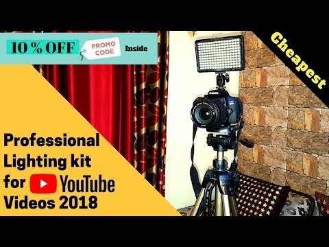Best Budget Light Setup For Videos & Photos | Must Have DSLR Accessories | Must Have Camera Accessories | How To Shoot Videos Professionally