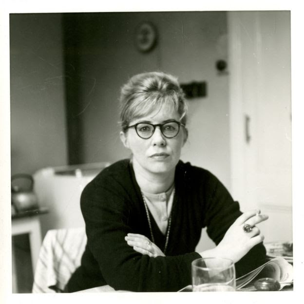 Philip Larkin's photograph of Monica Jones