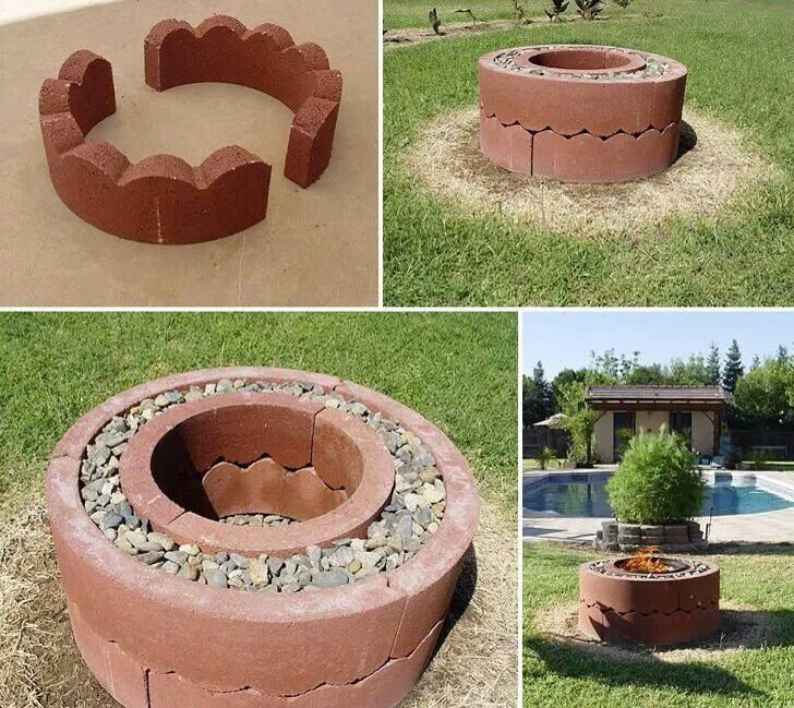 Tree Ring Fire Pit