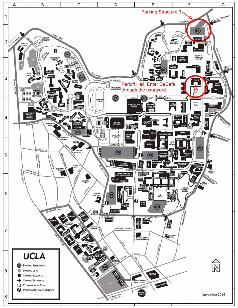 Image Result For Ucla Map Of