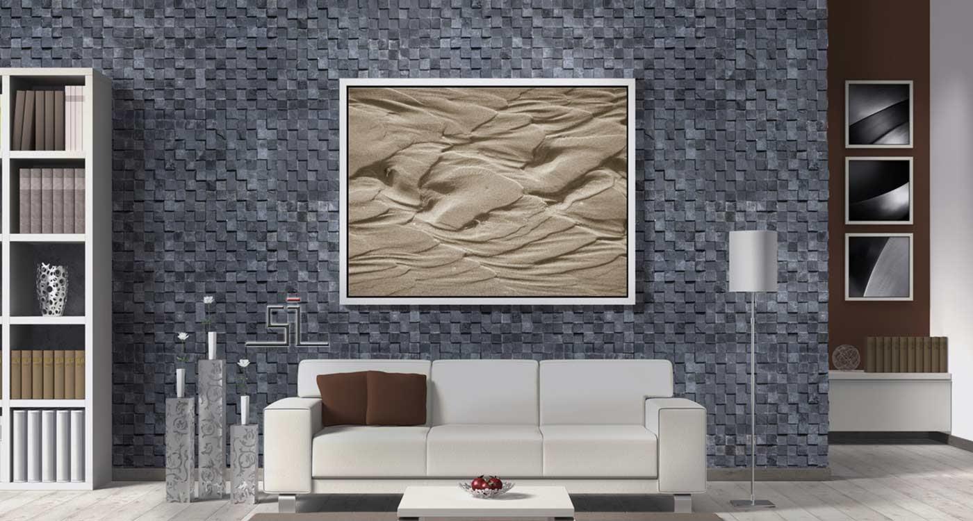 stone mosaic banner