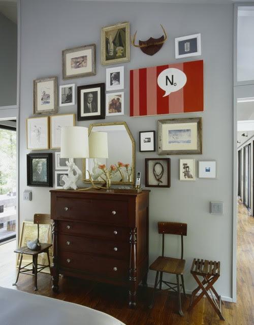 Sixteen Doors eclectic bedroom