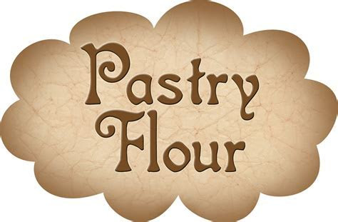 Pantry Label: Pastry Flour   Rooftop Post Printables