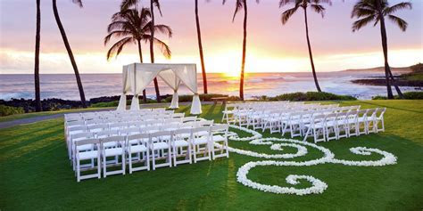 Sheraton Kauai Resort Weddings   Get Prices for Wedding