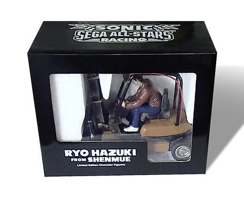 Sonic & SEGA All-Stars Racing - Ryo Hazuki Figure (Front)