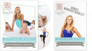 After Baby 2 DVD Set plus Bonus Workout Booklet – Preselling Now!