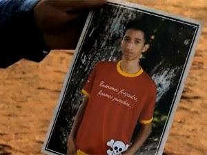 Rafael Carvalho, de 15 anos, morreu afogado (Foto: Reprodução/RBS TV)