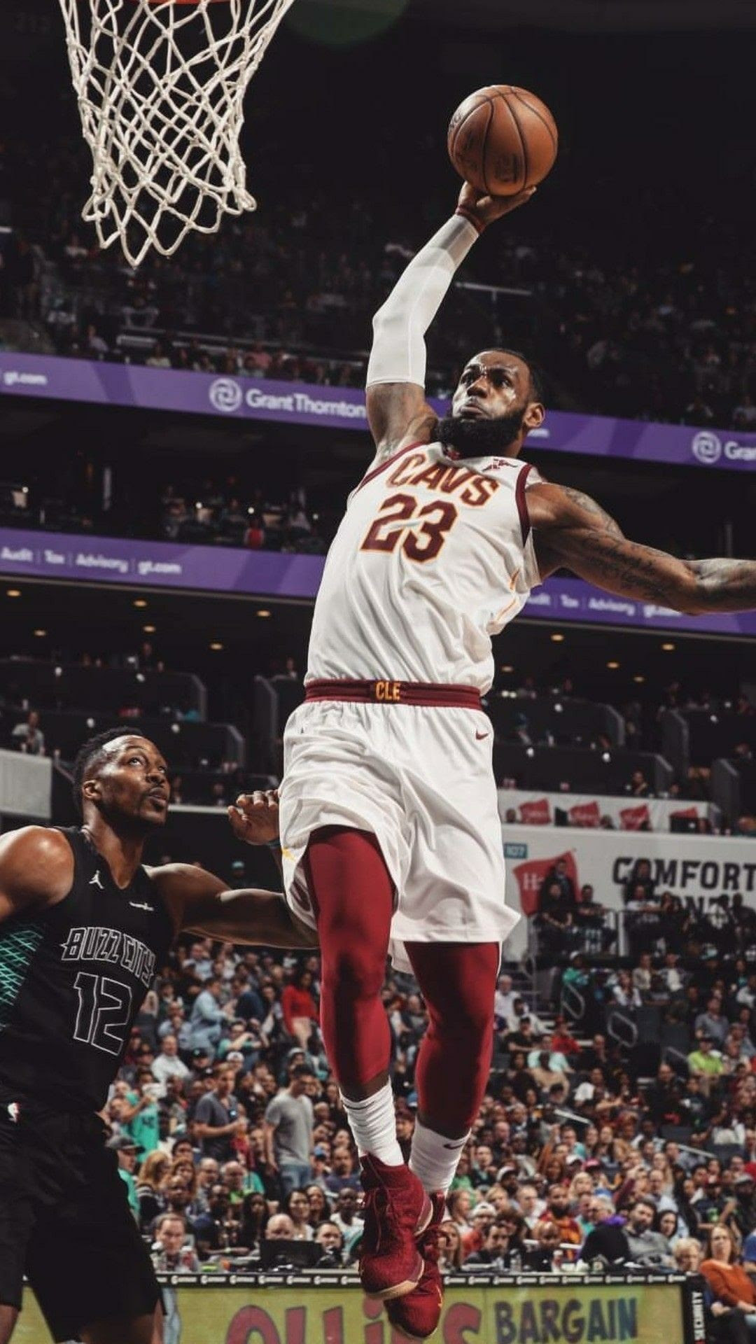 Lebron James Dunking Wallpapers (79+ background pictures)