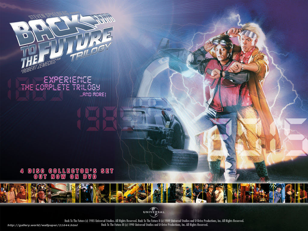 Download Wallpaper Back To The Future Back To The Future Film