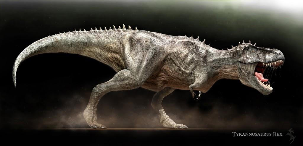 dinosaures t rex féroce