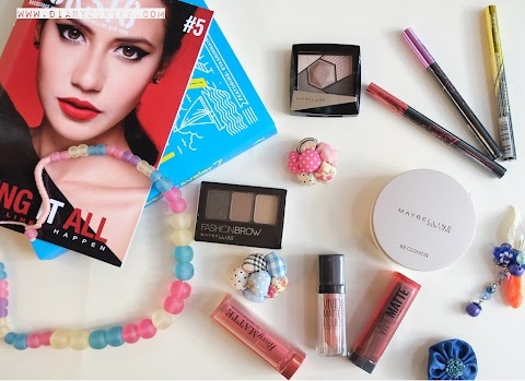 Maybelline Wing It All, Make Up Ala Pevita Pearce