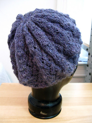 Bobble hat from Vogue Knitting Holiday 2008