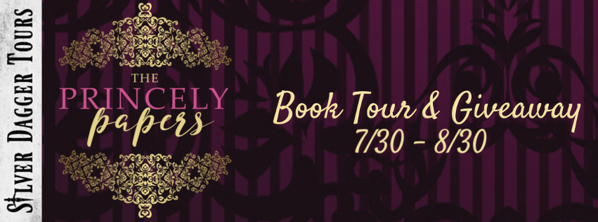 Book Tour Banner for the contemporary romance The Princely Papers by Mohanalakshmi Rajakumar with a Book Tour Giveaway