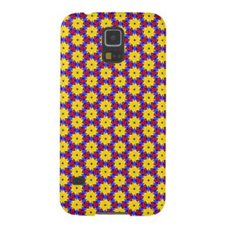 Pinwheel-like Design on Samsung Galaxy S5 Case