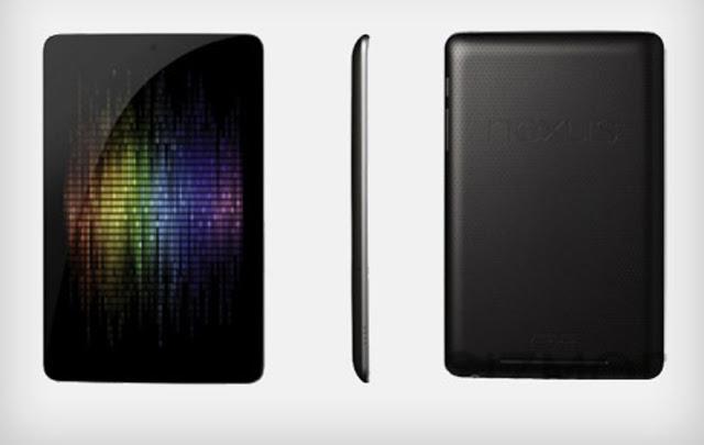 Google presentó Nexus 7 para competir con el iPad de Apple
