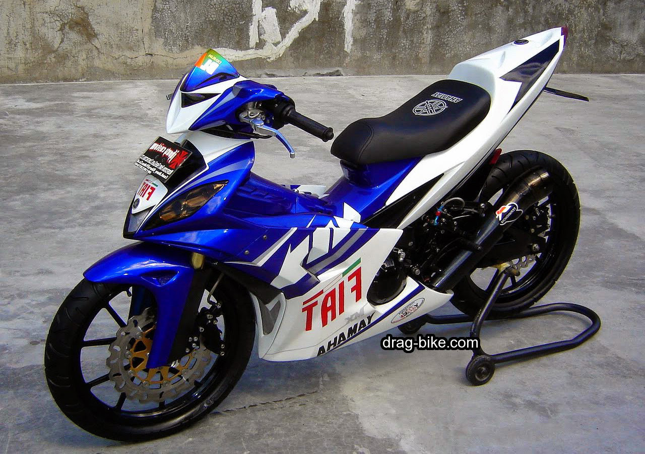 Gambar Modifikasi Motor Mx King
