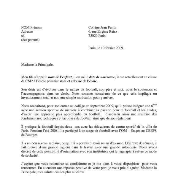 cover letter example  mod u00e8le de lettre de motivation word 2010