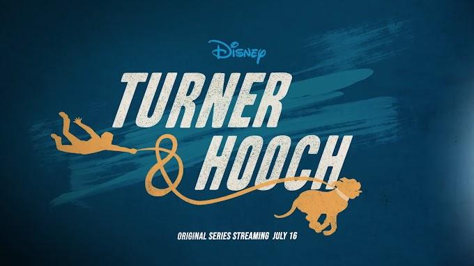 Primeras imágenes de la serie 'Turner & Hooch'
