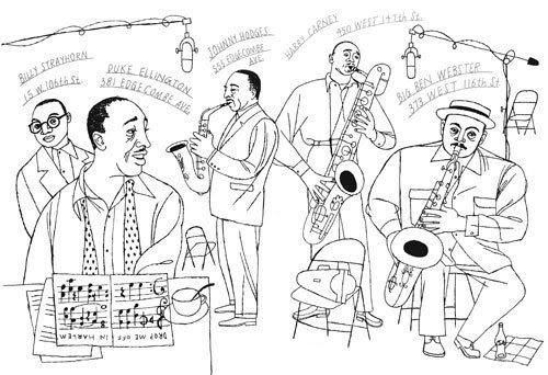 Duke Ellington Coloring Sheet Coloring Pages - jeffersonclan