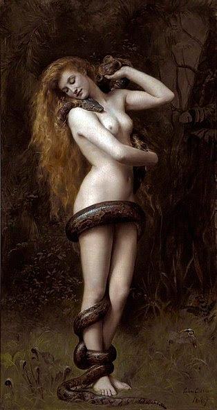 http://upload.wikimedia.org/wikipedia/commons/thumb/b/b6/Lilith_%28John_Collier_painting%29.jpg/314px-Lilith_%28John_Collier_painting%29.jpg