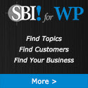 SBI!, All-In-One, online business software for  Wordpress: Find Topics, Find Customers, Find Your Business | Create an online business on your own terms
