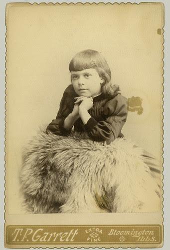Cabinet Card little girl