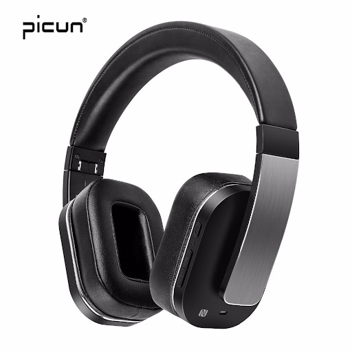 56ec1a61aa9 Now is the time Picun F9 High-end Wireless Bluetooth Headphone Noise  Cancelling Headphones With Mic. HIFI Music Headset For Iphone Xiaomi Gaming  ...