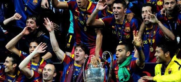 El Barça conquista su cuarta Champions League en Wembley