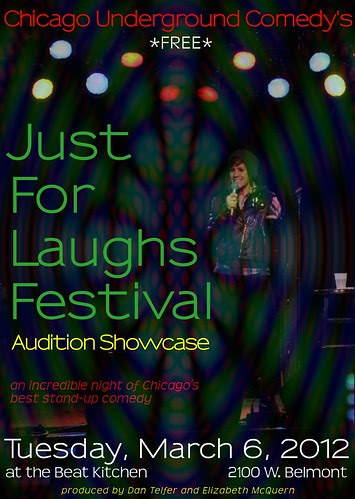 ChUC JFL audition showcase poster