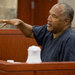 O. J. Simpson, in prison for a 2008 conviction for kidnapping and armed robbery, testified Wednesday in Las Vegas, trying to overturn that decision.