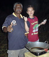 Thumbs up for Fried Fish