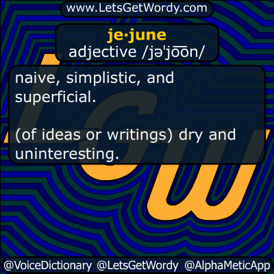 jejune 05/24/2018 GFX Definition