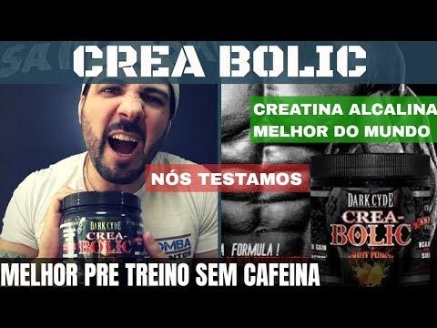 CREA BOLIC da DARKCYDE Melhor Pré Treino do Mundo sem Cafeína com Aumento de Força e Disposição