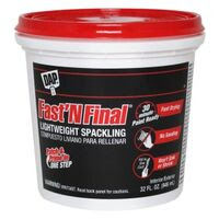 DAP Fast 'N Final Lightweight Spackling Compound, 1 Qt