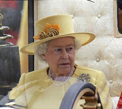 Lareina Isabel II de Inglaterra. EFE/Archivo