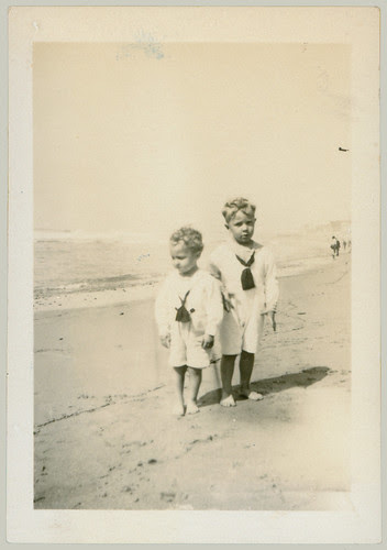 Two children in sailor suits