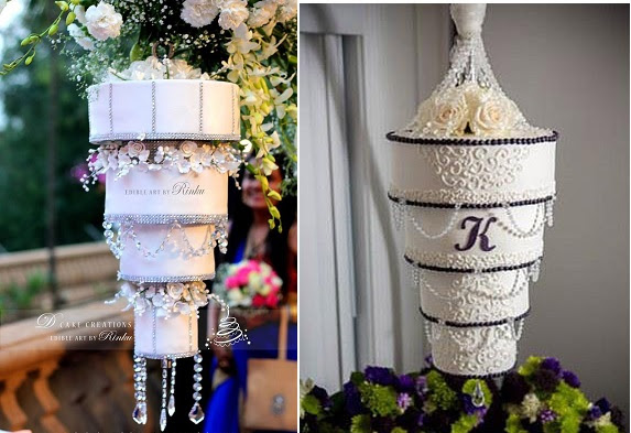 Chandelier Wedding Cakes Cake Geek Magazine