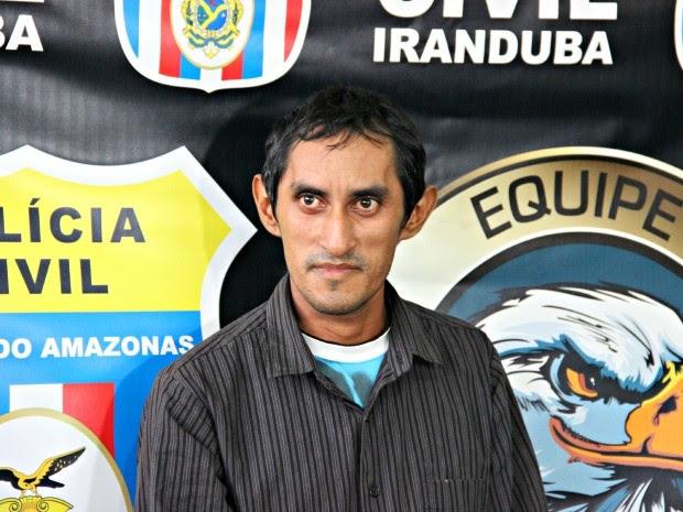 Homem foi preso no município de Parintins (Foto: Diego Toledano/ G1 AM)