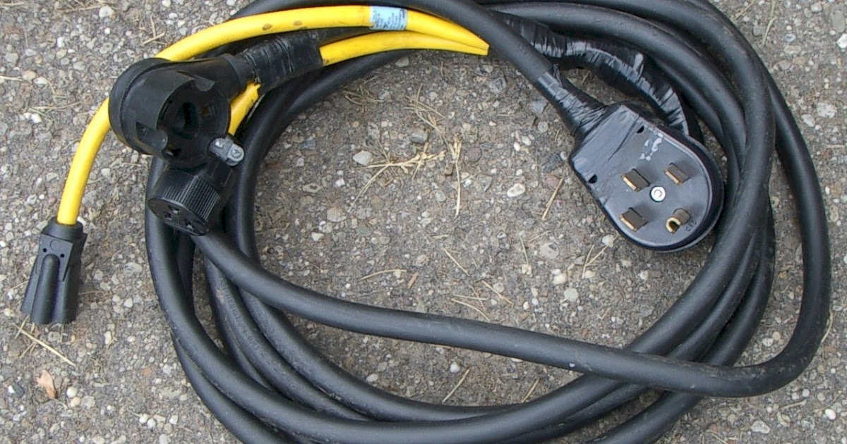 50 Amp Generator Plug Wiring Diagram