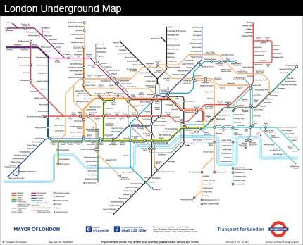 World Pirate Maps | Vintage Maps | London Underground Map