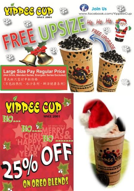 Yippee Cup Promotion