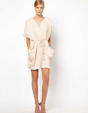 Image 1 of Whistles Leyla Drawstring Dress
