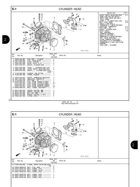 Honda Wave Parts Manual En