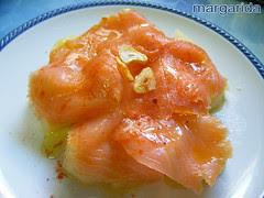 salmon con patatas