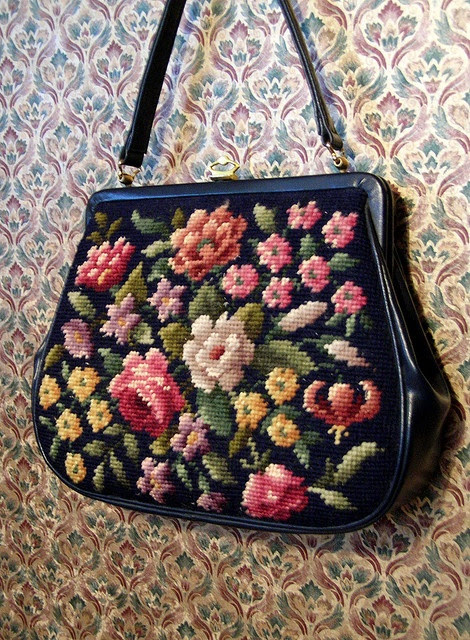 Needlepoint Purse